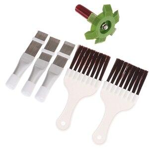 Fin Repair Comb Auto Car Plastic A/C Condenser Fin Straightener Refrigeration Radiator Comb Evaporator Air Conditioning Tools