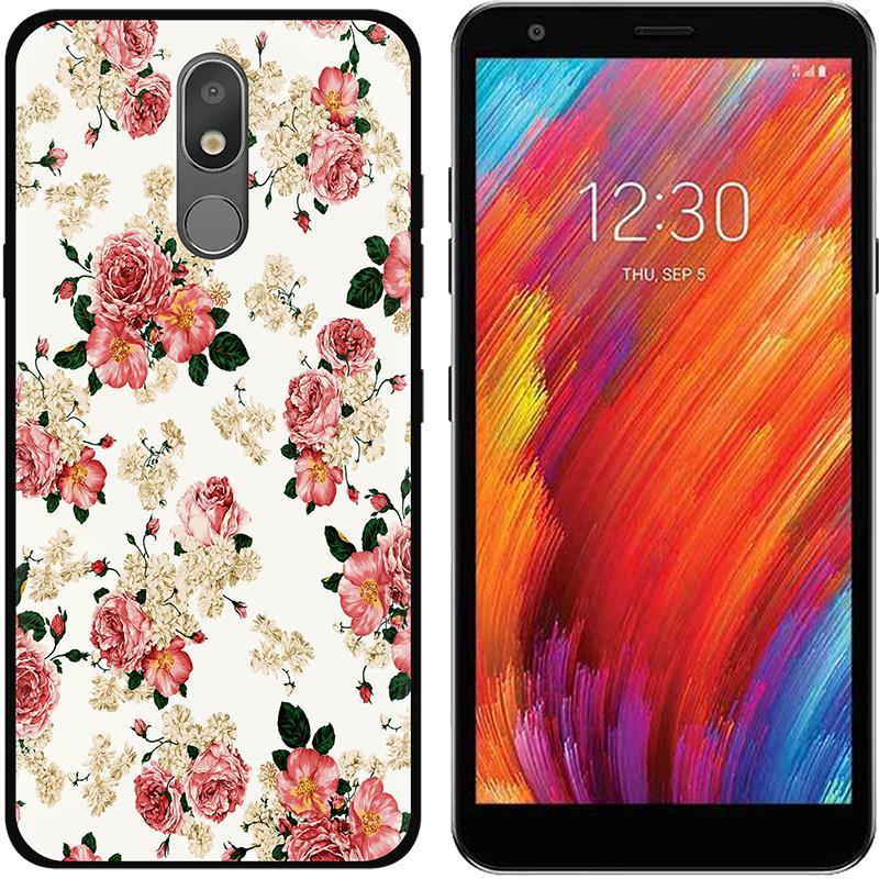 For LG K30 2019 Case Soft Silicone Black Back Cover For LG Aristo 4 Plus 4 + Phone Cases TPU Coque For LG Aristo 4 Aristo4 5.45