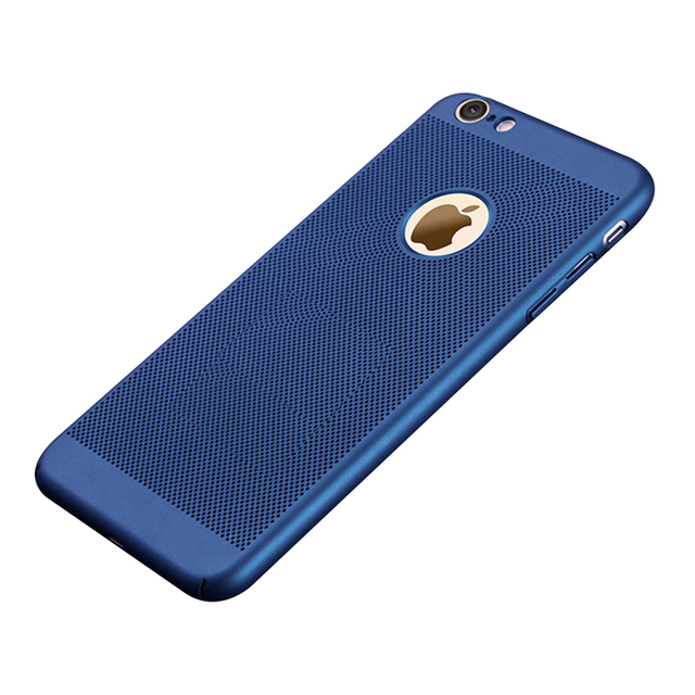 Luxuri Ultra Slim Hollow Gertong Heat Dissipation Phone Case For iPhone 6 s 6s 7 8 Plus Hard PC iPhon Cover Coque XS X S MAX XR