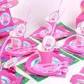 Со Свинкой Пеппой; Вечерние свадебные украшения поставки детского дня рождения вечерние праздничные украшения посуда реквизит скатерть кр...