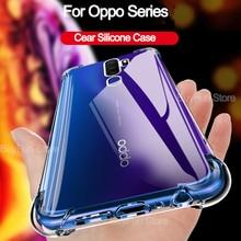 Anti-knock Silicone Case for OPPO K5 A9 A5 2020 A11X A1K K3 A7 A7N A5S AX7 A7X A3 A79