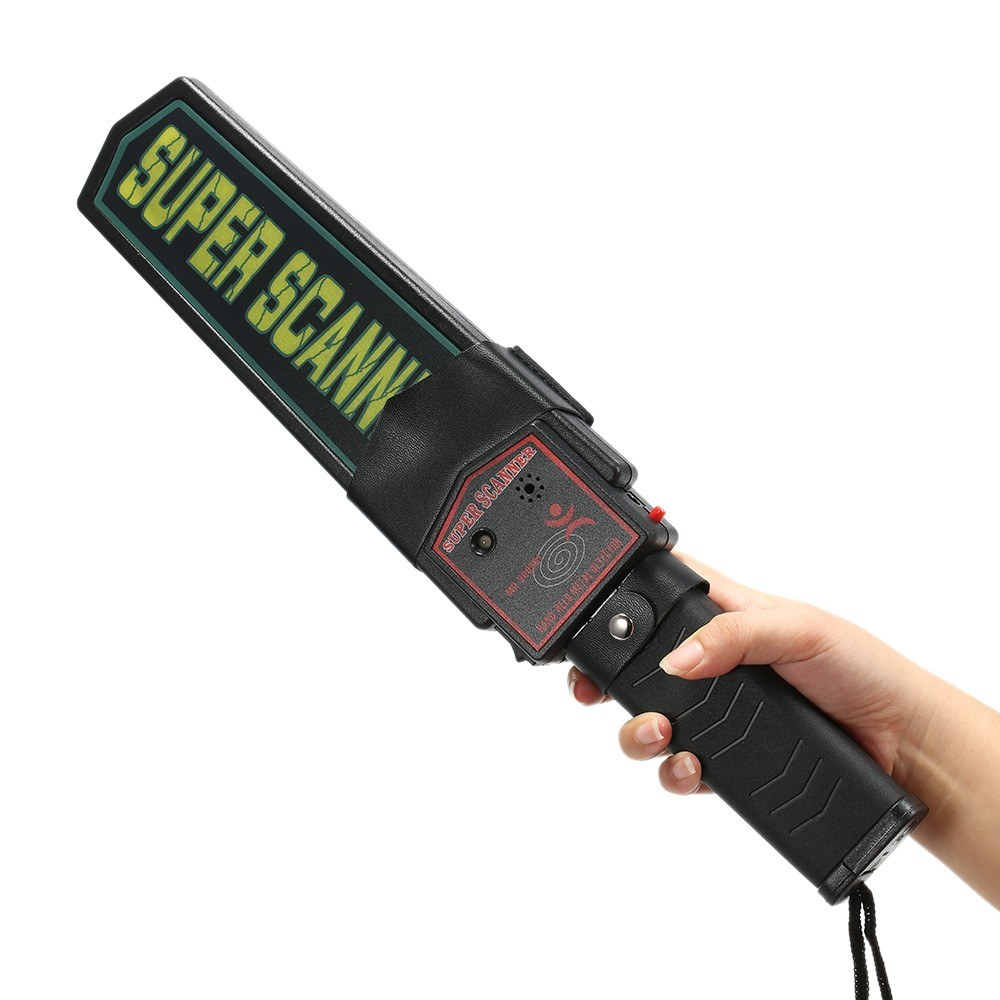 Portable Handheld Metal Detector Security Super Scanner