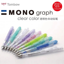 Pen-Rod Pencils School-Supplies Michanical Tombow Mono Japanese Graph Clear-Color New