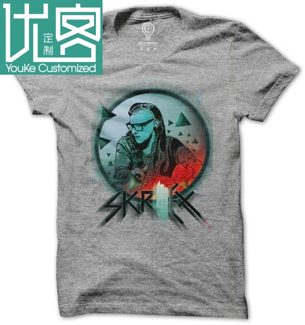 <font><b>Skrillex</b></font> Summer Mens <font><b>T</b></font> <font><b>Shirt</b></font> men's <font><b>t</b></font>-<font><b>shirt</b></font> Cartoon Fun <font><b>t</b></font>-<font><b>shirt</b></font> image