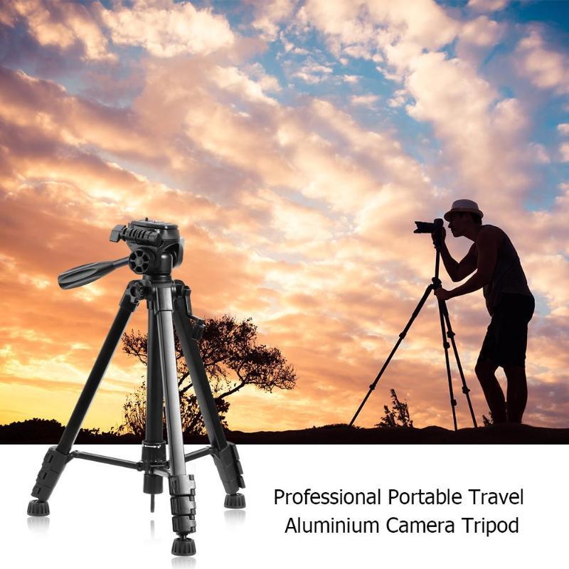 Support de trépied photographique Portable support de trépied de tête d'appareil-photo pour appareil-photo de téléphone une vitesse 80cm 2 109cm trois 135cm quatre 150cm