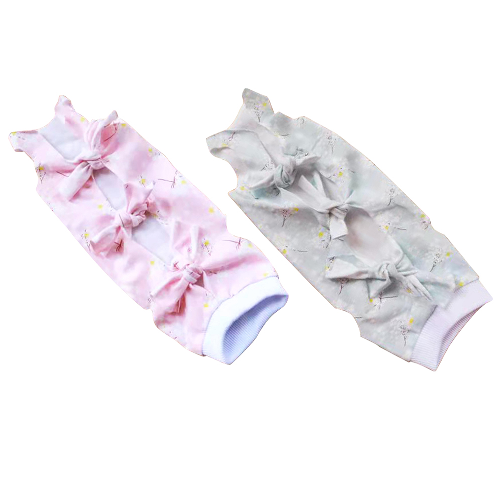 Cat Puppy Clothes Recovery Suit Medicine Prevent After Surgery Wear Anti Pet Licking Wounds Healing Clothes
