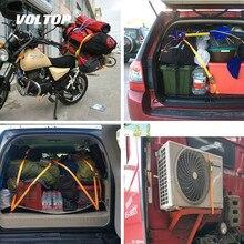 Correas de carga con hebilla de 3 metros para bicicleta de motocicleta con hebilla de Metal correa de trinquete fuerte para bolsa de equipaje