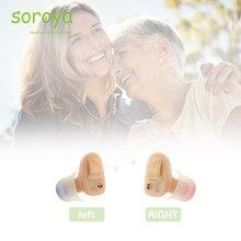 Soroya Hörgerät Mini CIC Unsichtbare Ohr Sound Verstärker Enhancer Drahtlose Tragbare Ohr pflege Made in China
