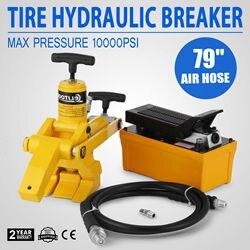 5 pneumatici Del Trattore del Camion Idraulico Bead Breaker Pneumatico Changer Pompa A Pedale Heavy Duty Idraulico Con Pompa A Pedale In Metallo e tubo aria