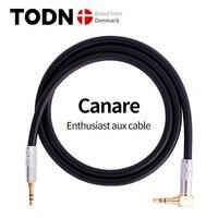 Canare-Cable auxiliar Jack de 3,5 MM a 3,5 MM, Conector de Audio, altavoz, para iPhone, ordenador, altavoz de coche, para iPad, Huawei y Xiaomi