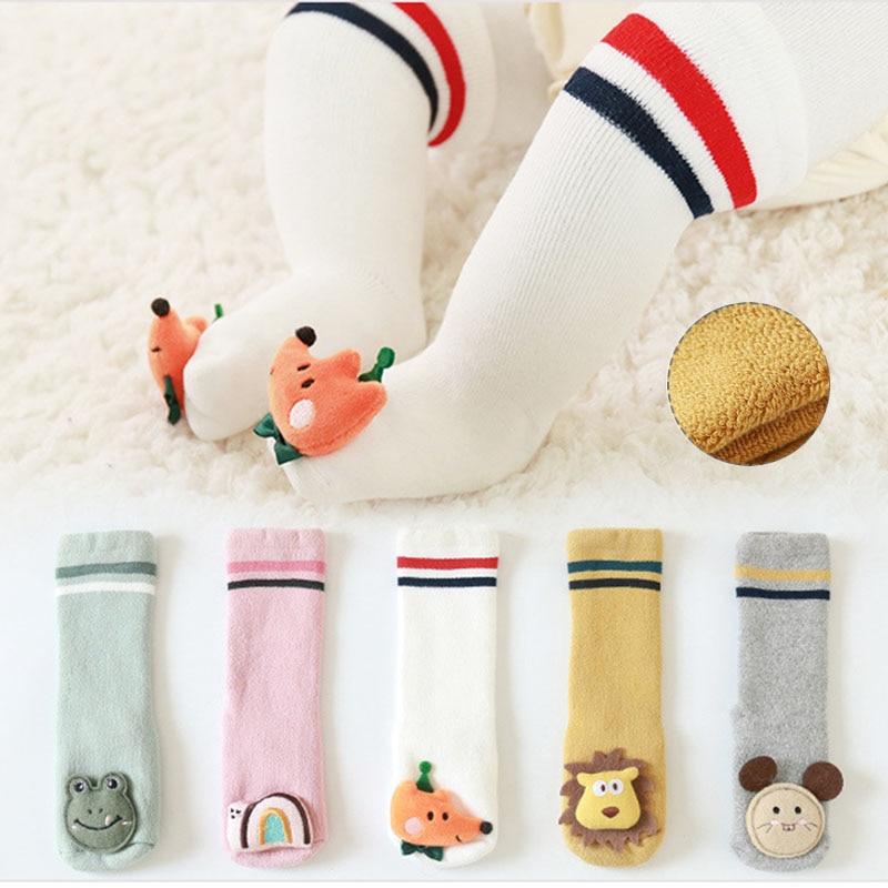 Детские носки зимние Бархатные толстые детские для девочек и