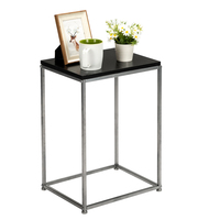 tea table for office coffee table magazine shelf small table living room bedroom furniture Iron Base