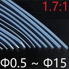 Диаметр 05 мм ~ 15 ПТФЭ Термоусадочная трубка 17: 1 Коэффициент