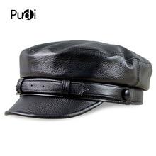Hats Caps Visor Baseball Newsboy-Cowhide Fashion Deer Men HL181 Box-Hat Army-Cap Rider-Style