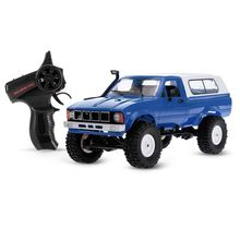 WPL C-24 2.4G 4WD 1:16 Off Road Rock Crawler met Front LED RC Auto RTR(China)