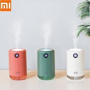 Image 1 - Xiaomi – humidificateur dair ultrasonique sans fil, diffuseur de brume deau aromatique, portable, pour le bureau, la maison, cadeau, 500ml