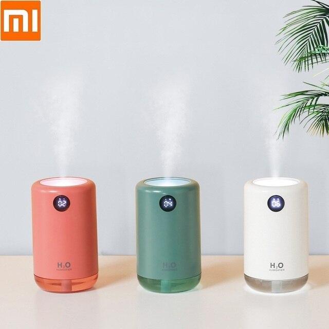 Xiaomi – humidificateur dair ultrasonique sans fil, diffuseur de brume deau aromatique, portable, pour le bureau, la maison, cadeau, 500ml