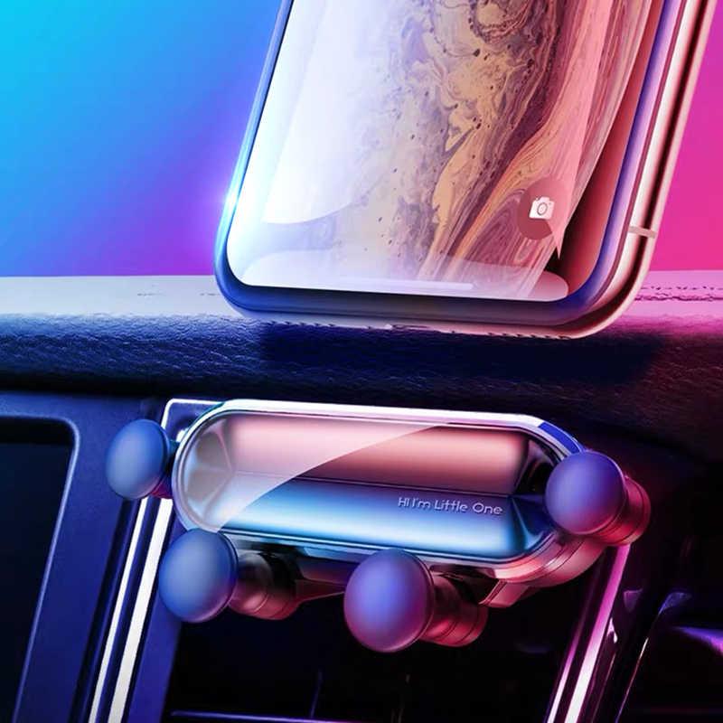 Один гравитационный Автомобильный держатель для телефона для Iphone 8 X Xs Max samsung S9 S8 в автомобильном вентиляционном отверстии держатель без магнитной подставки для мобильного телефона