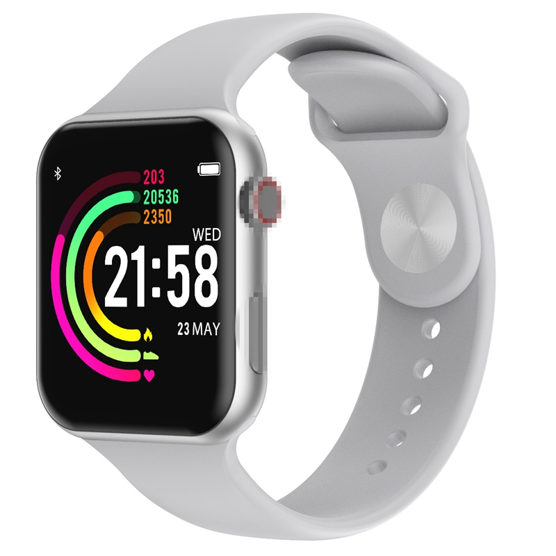 Smart Watch F10 Full Touch Screen Heart Rate Blood Pressure Sports Tracker Fitness For Apple IOS Android PK Iwo 8 9 10 W58