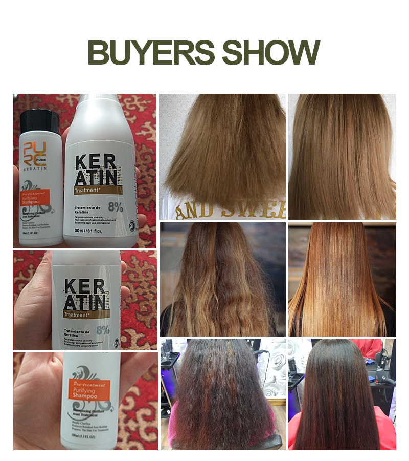 8% 300ml keratin treatment