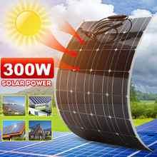 Paneles solares plegables para exteriores, 300W, con Cable de 1,5 M, para viajar, acampar y senderismo