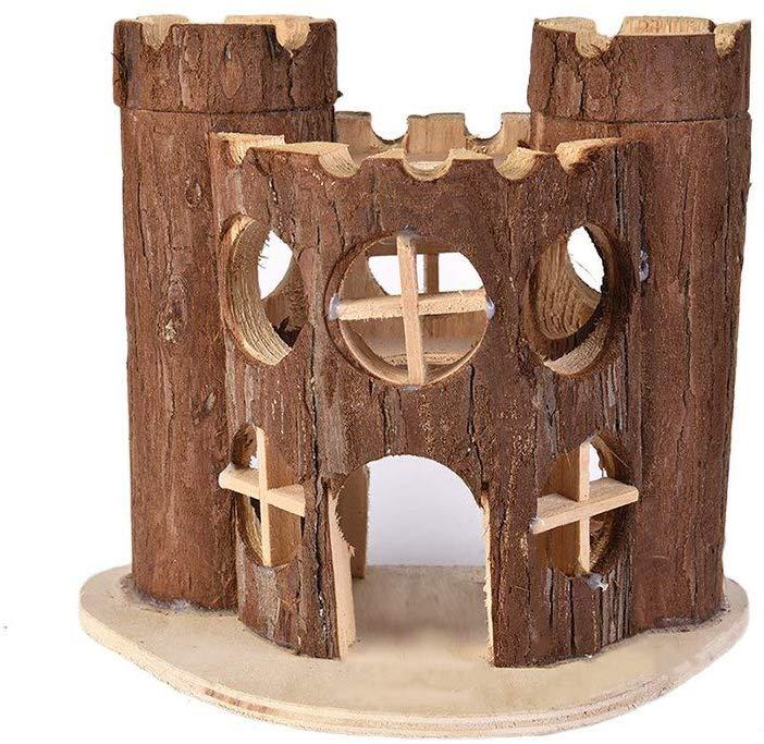 Hamster casa de madera pequeños animales refugio cabaña para rata ratón jaula jerbo Red de red de RED para aves, malla de jardín para proteger plantones, vegetales, frutas suaves, plantas, Malla reutilizable, jaula de fruta, red antiaves