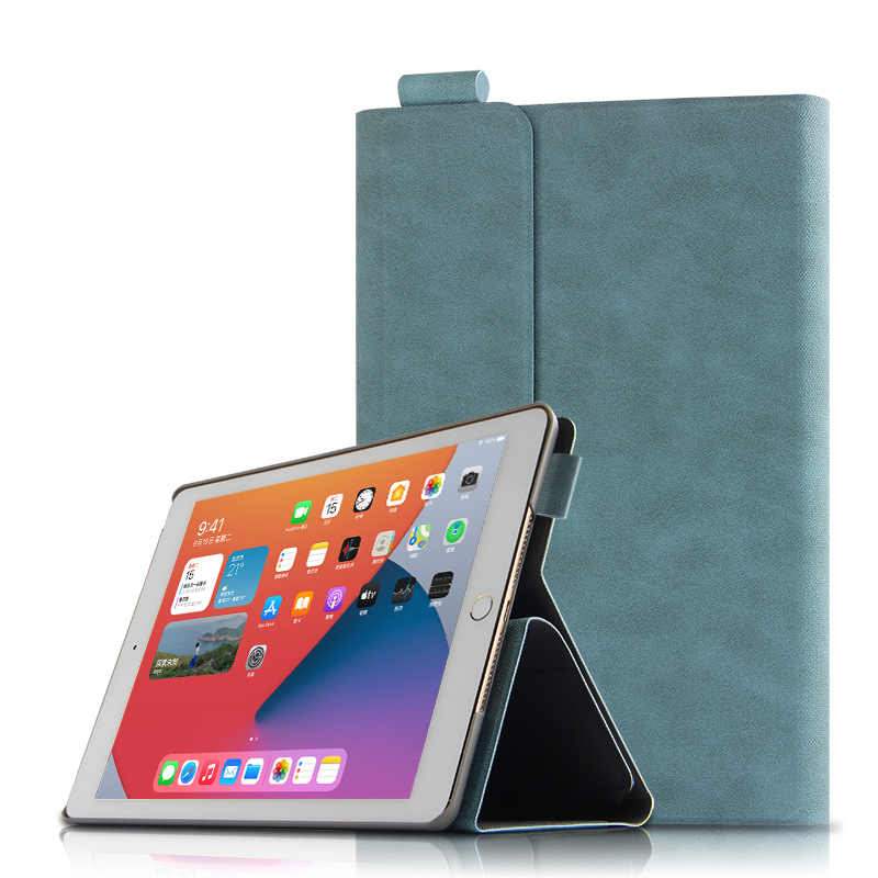 blue Red Smart Case For Apple iPad 10 2 2020 A2270 A2428 Tablet Protective Cover PU Magnetic For
