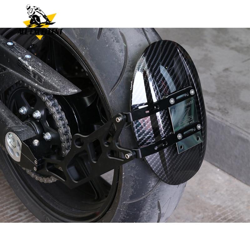 Motorcycle Rear Mudguard Mount Wheel Tire Hugger Mud Guards Fender Splash Guard For KAWASAKI Z1000 2010-2017 2016 2015 2014 2013