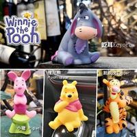 Anime diy pooh, modelo tigger, boneca de brinquedo, personagem de ação, gk, acessórios para casa, desenhos animados, suprimentos de carro, conjunto de brinquedos para crianças, presente