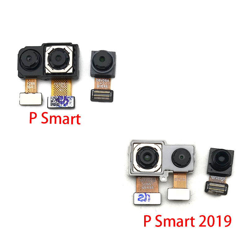 New For Huawei P Smart 2019 Back Rear Camera Module Flex Cable +Front Facing Camera Replacement