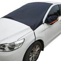 Parabrisas Universal para coche cubierta del automóvil parasol escudo para parasol para parabrisas magnético impermeable coche de hielo Protector de parabrisas para el hielo
