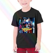 Camiseta infantil do fã da série da série da tevê das crianças do perigo de henry