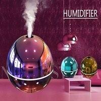 Umidificador de ar usb umidificador aromaterapia difusor óleo essencial portátil ultra sônica névoa mini purificador base incenso para casa