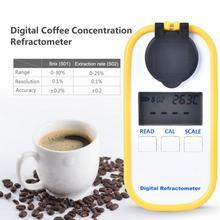 Цифровой дисплей измеритель концентрации кофе глюкометр измерительный инструмент Многофункциональный тестер концентрации кофе