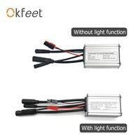 Okfeet KT 컨트롤러 Ebike 250W 모터 36V 48V 14A Sinewave 컨트롤러 전기 자전거 변환 키트에 대 한 방수 케이블