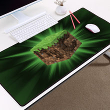Minecraft MousePad MC Zombie Monster Block Pattern Mousemats DIY Boy Gift Gaming Mouse Pad Gamer Large Size Mouse pad(China)
