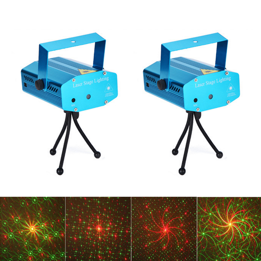 1 conjunto mini led laser projetor ktv