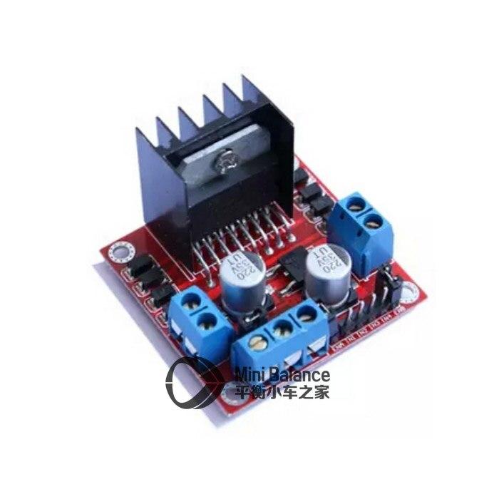L298N Motor Drive Board Module DC Stepper Motor Robot Smart Car Double H Bridge