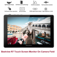 Bestview R7 7 4K HDMI IPS FHD 1920X1080 LCD Touch Screen Monitor Moniteur Camera Field DSLR Monitor For Video Camera Stabilizer