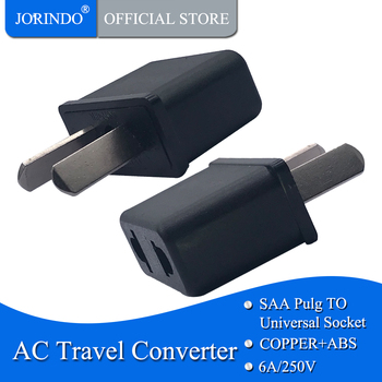 JORINDO AU TO US,AU TO EU,Hot Selling AU To EU Europe USA US Charger Power Plug Adapter Converter Wall domestic Plug image