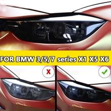 Araba Styling far koruyucu restorasyon koruma filmi BMW 3 5 7 serisi X1 X6 X5 F15 X6 F16 G30 f25 G11G12 aksesuarları