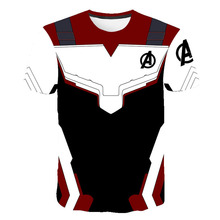 Avengers Endgame Kids 3D T-shirt The 4 Quantum Realm Cosplay Summer Top For Boys Tshirts Girls Clothes Costume Tee