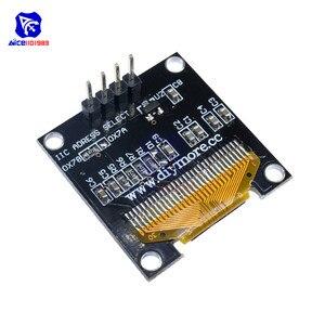 "Image 4 - Diymore 0.96 ""12864 SSD1306 OLED LCD Display Modul I2C IIC Serien mit Pin für Arduino 51 MSP430 Serie STM32/2 CSR IC"