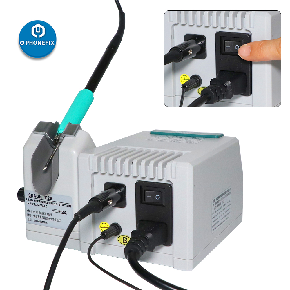 SUGON T26 Soldering Station 220V110V Lead-free 2S Rapid Heating 80W Power Electric Heating System SUGON T36 (4)