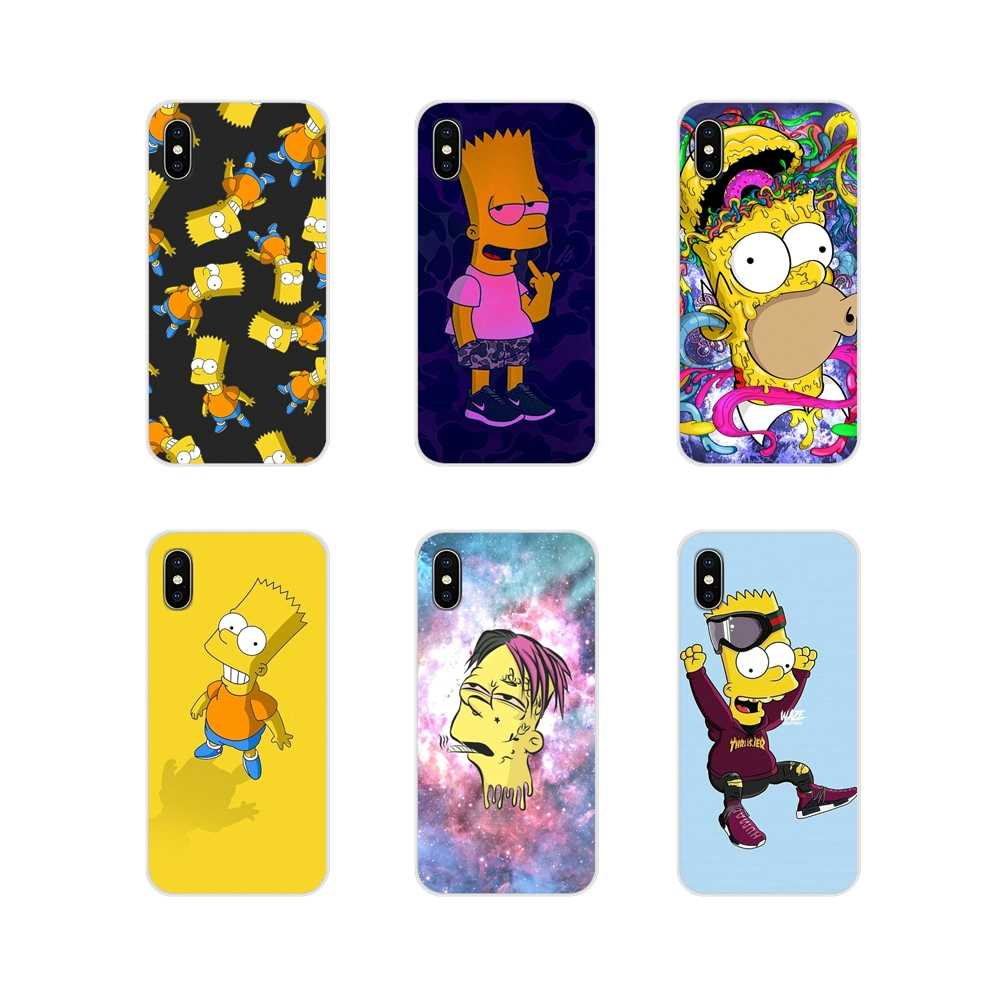 For Huawei Nova 2 3 2i 3i Y6 Y7 Y9 Prime Pro GR3 GR5 2017 2018 2019 Y5II Y6II The Simpsons Cartoons Anime Cell Phone Case Covers