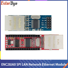 Mini ENC28J60 Ethernet kalkanı/Ethernet kalkanı Nano SPI arayüzü LAN ağ modülü Ethernet modülü