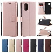 Para samsung galaxy a11 a01 a50 a30 a40 a70 a51 a71 a21 a41 caso de couro slot flip carteira cartão habitação capa suporte saco móvel