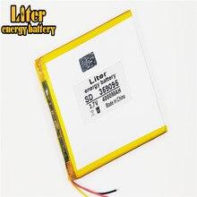 3 linie 3,7 V 4000 mah tablet batterie gm lithium-polymer batterie 359095 Li-Ion batterie für MP3 MP4