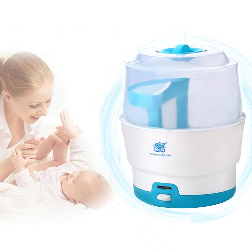 Baby Bottle Sterilizer Large Capacity Disinfection Cabinet Intelligent Anti Dry Steam Sterilizer
