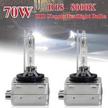 цена на D1S HID Xenon Headlight Bulb 2003-2014 2PCS Auto Parts Kit for Cadillac Escalade ESV EXT Hot Selling h4 halogen Halogen lamp